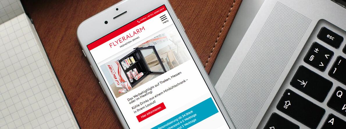 FLYERALARM Promotion Drinks - Webshop | icue medien